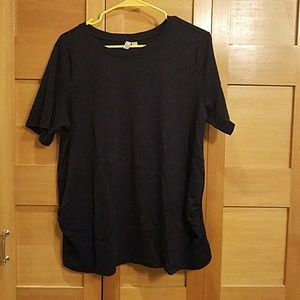 Navy t shirt for pregnant ladies